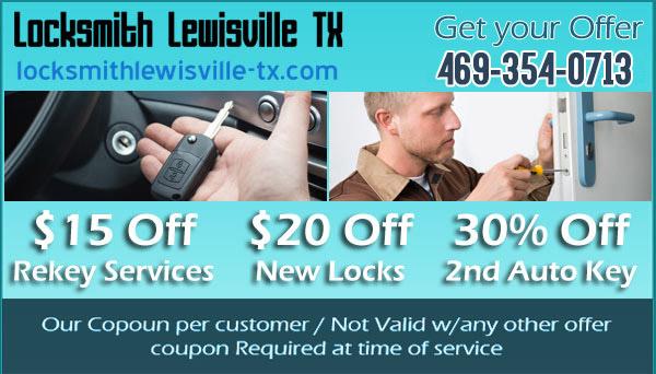 locksmith lewisville tx Coupon